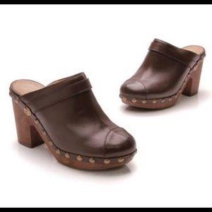 Chanel Clog Platform Heels